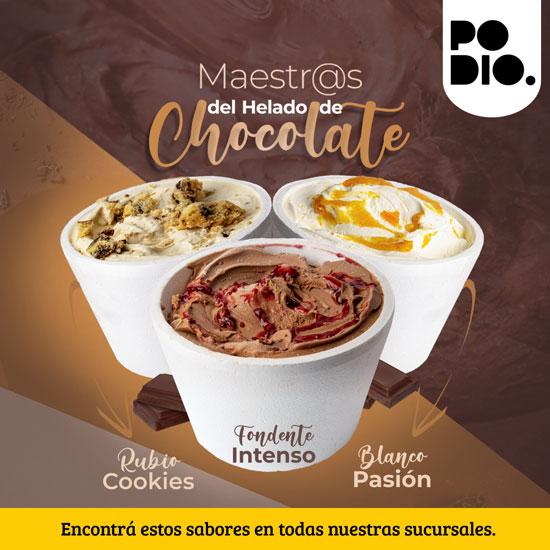 Maestros del helado de Chocolate